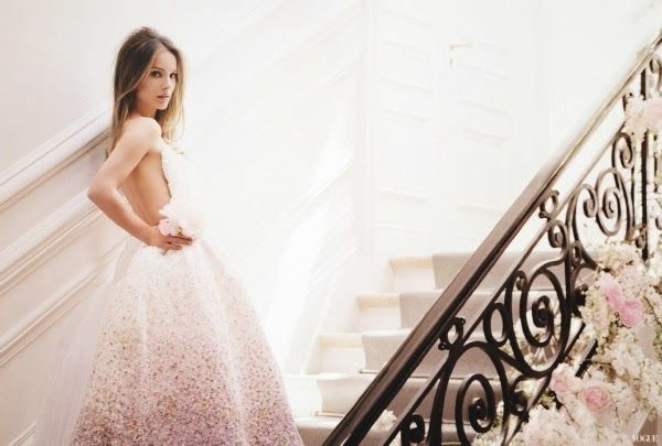 {fashion inspiration | ad campaign : miss dior blooming scent}