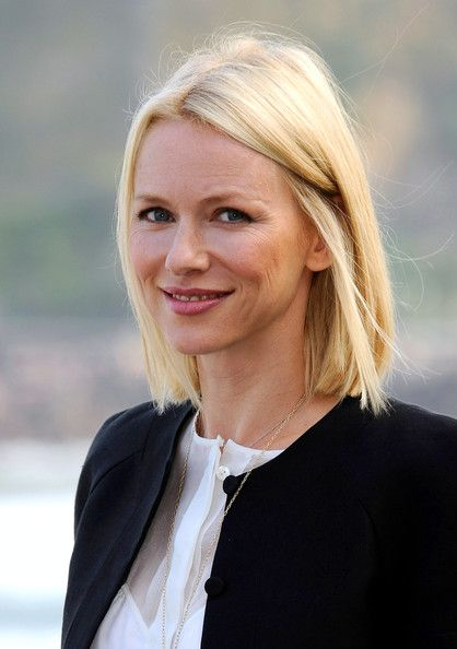 Naomi Watts Hair - Shoulder length blonde
