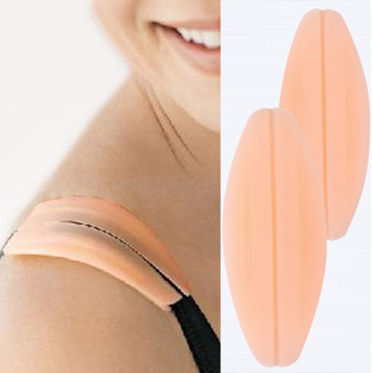 1Pair Soft Silicone Bra Strap Holder Non Slip Bra Strap Shoulder Pads Cushion Relief Pain Strap Pads Intimates Bra Accessories-in Pads & Enhancers from Women's Clothing & Accessories on Aliexpress.com | Alibaba Group