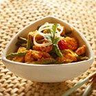 Thaise kip met groene asperges