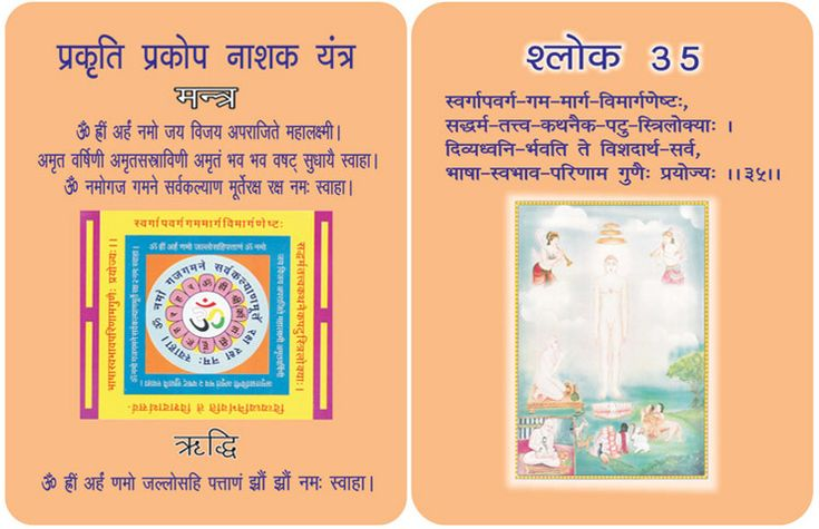 """ ‪#‎Mantra‬ For ‪#‎saving‬ from ‪#‎epidemics‬, hysteria and famine"" in Hindi card. Take Care. For more mantra visit @ http://www.drmanjujain.com"