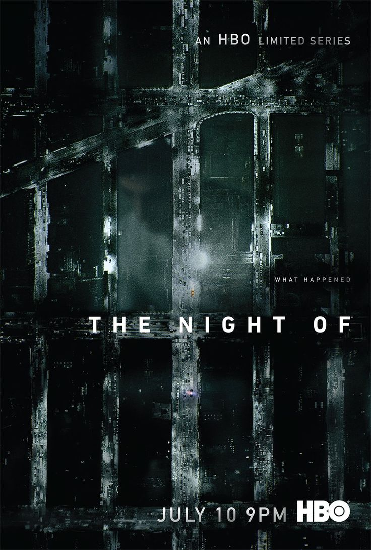 """Outstanding Limited Series Nomination-The Night Of (HBO-June 24, 2016) a crime drama based on """"Criminal Justice,"""" a British TV Series. Written by Richard Price, Steven Zaillian. Directed by Zaillian, James Marsh. After a night of partying with a female stranger, a man wakes up to find her stabbed to death and is charged with her murder. Stars: Riz Ahmed, John Turturro, Bill Camp."""