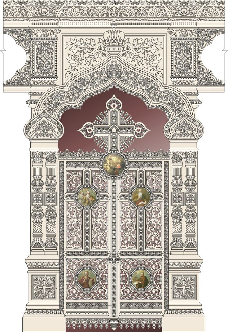 Царские врата - проект.