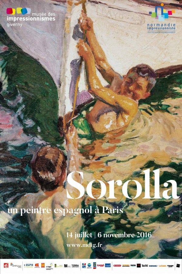 Exposition Sorolla, un peintre espagnol à Paris - Juillet 2016/Novembre 2016 - Musée des Impressionnismes. Giverny