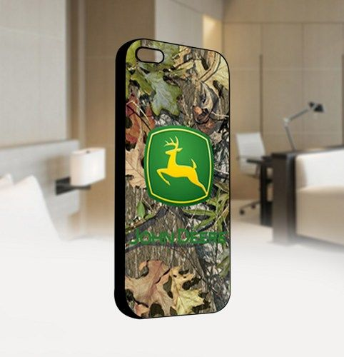 JOhn deere cemo - For IPhone 4 or 4S Black Case Cover