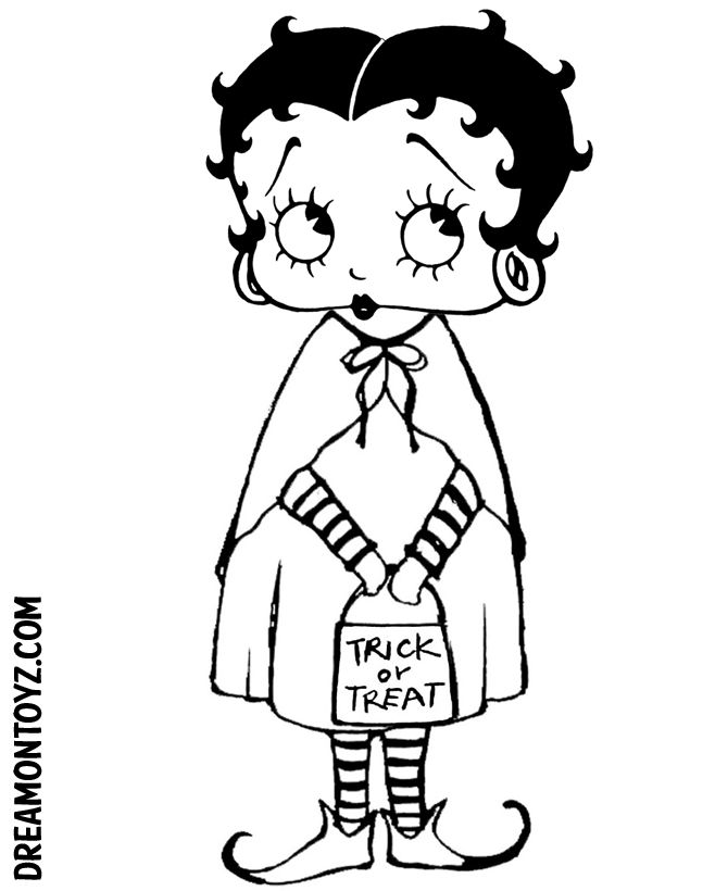 betty boop coloring pages yahoo image search results - Betty Boop Coloring Pages Birthday