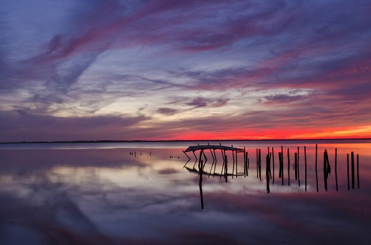 Fisher Landing Sunset by David Knopfler on 500px