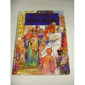 The Bible for Children in HINDI Language / A CLASSIC CHILDREN'S BIBLE, Large Print, Simpler  illustrations / Jose Perez Montero  $49.99