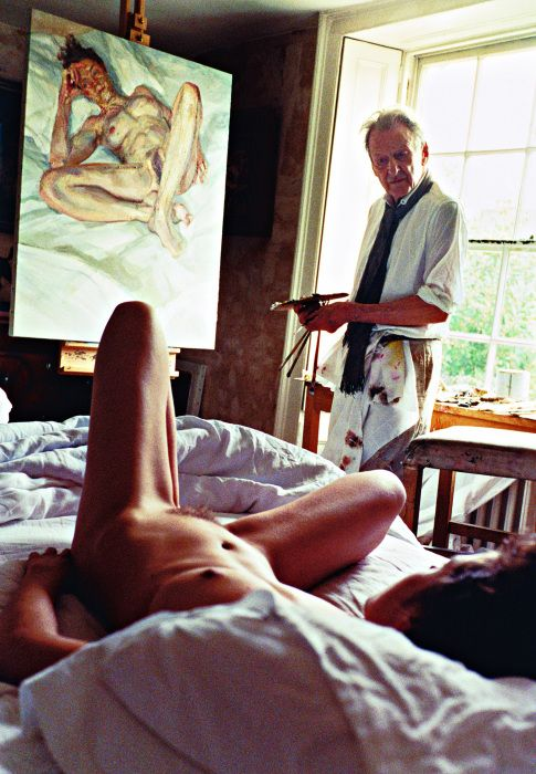 Lucien Freud, a different point of view