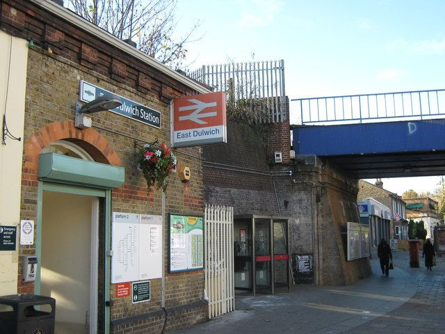 East Dulwich Railway Station (EDW) in East Dulwich, Greater London