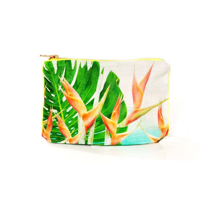 This Birds of Paradise print baby pouch by Samudra