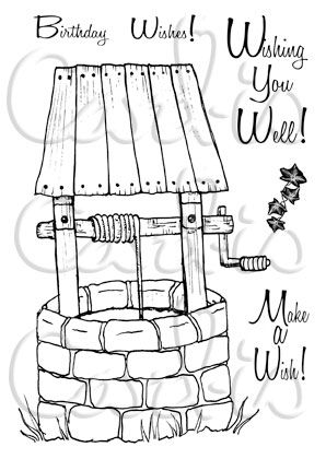 Well Wishes - Card-io Clear Stamp Set