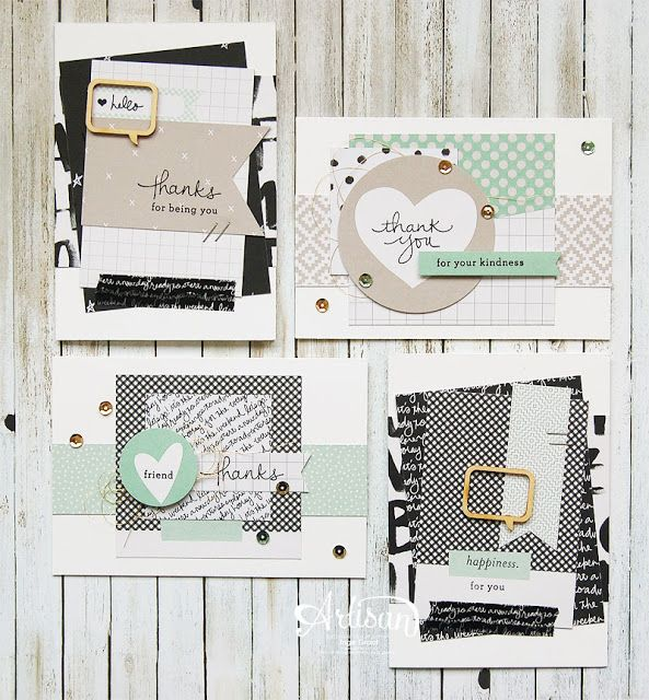 Project Life Moments Like These Project Life Bundle, Endless Thanks, Banner Triple Punch, Gift - Inge Groot-