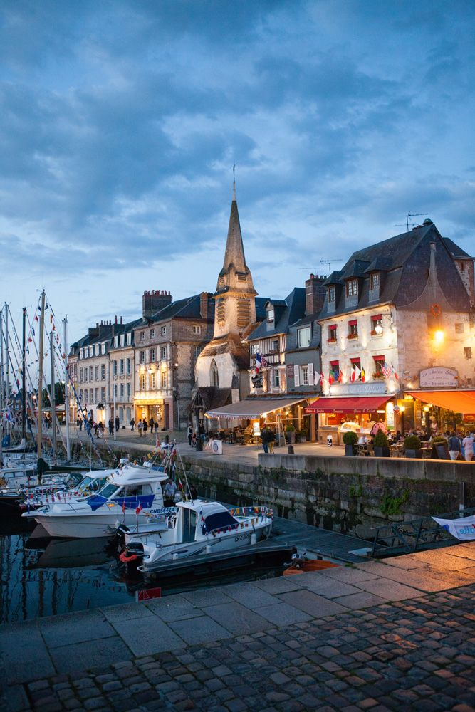 Honfleur, France.: Travel Agency, Memorial Voyage, France, Honfleur