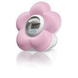 Thermomètre Numérique Philips Avent Bain & Chambre Couleur Rose 20€