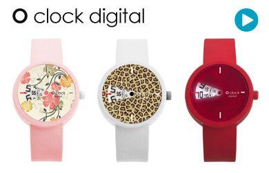 O clock watches from Fullspot Market | Italian designer watches | Buy online Oclock watches, O'clock watch