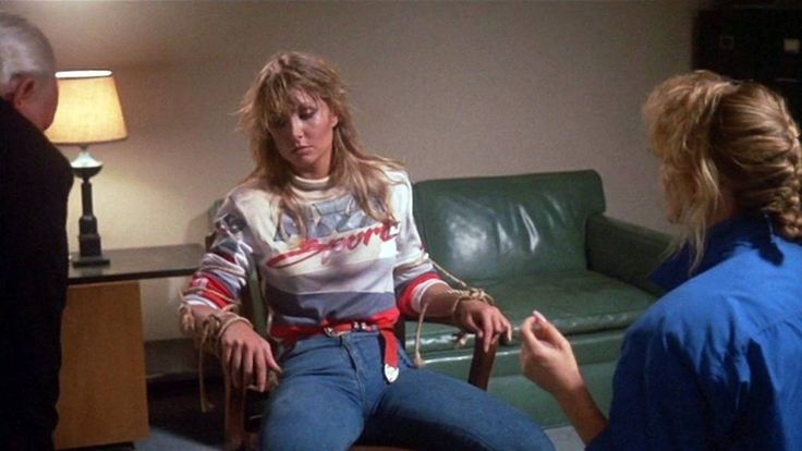 My dream as a kid was rescuing Heather Thomas from danger