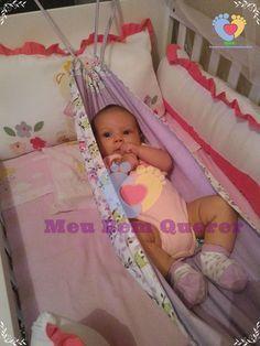 Rede para Berço <br>Rede dupla face. <br>Entre em contato para escolher a estampa. <br>Rede usada para acalmar e ninar o seu bebê com aconchego.