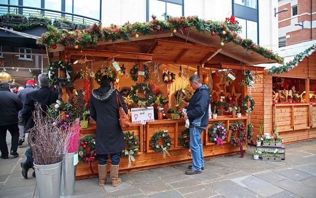 (PHOTO: Alamy)  Britain's best Christmas markets 2016:  Canterbury  This small, traditional market is set in the picturesque Whitefriars Square and is a good spot for quirky Christmas presents. Pick up traditional festive gifts, such as tin toys and Christmas ornaments, and enjoy German foodie treats, including Bratwurst and gingerbread. Dates: 26 November to 24 December 2016. Stay: Canterbury Cathedral Lodge