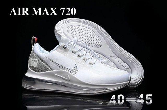 Nike Air Max 720 In White Mens Athletic Sneakers Shoes Se010765 Nike Air Max Nike Shoes Air Max Running Shoes