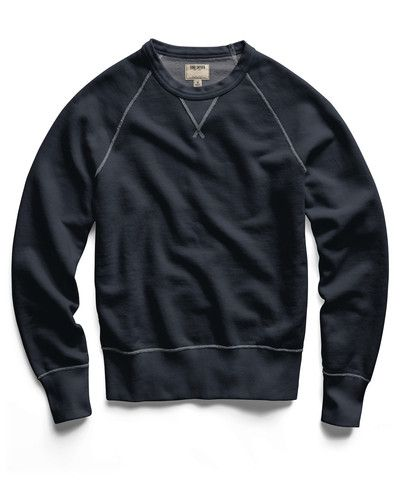Black Indigo Crew Sweatshirt...I cant understand why its $195 but still.