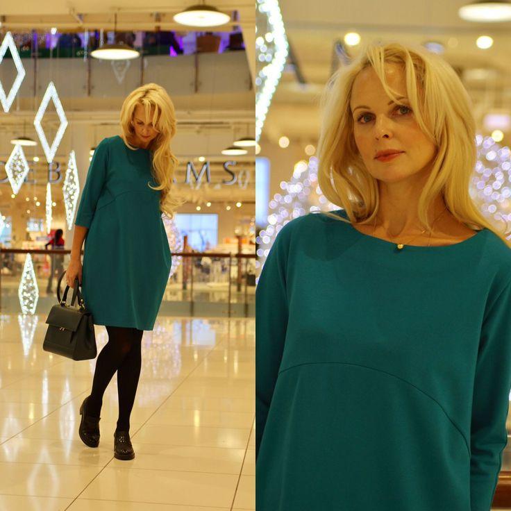Купить Платье EGGDRESS JERSEY SEA - платье трикотажное, платье свободное, платье модное