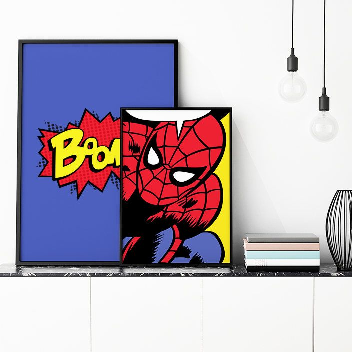 Spiderman Customizable Vector Illustration Premium Quality
