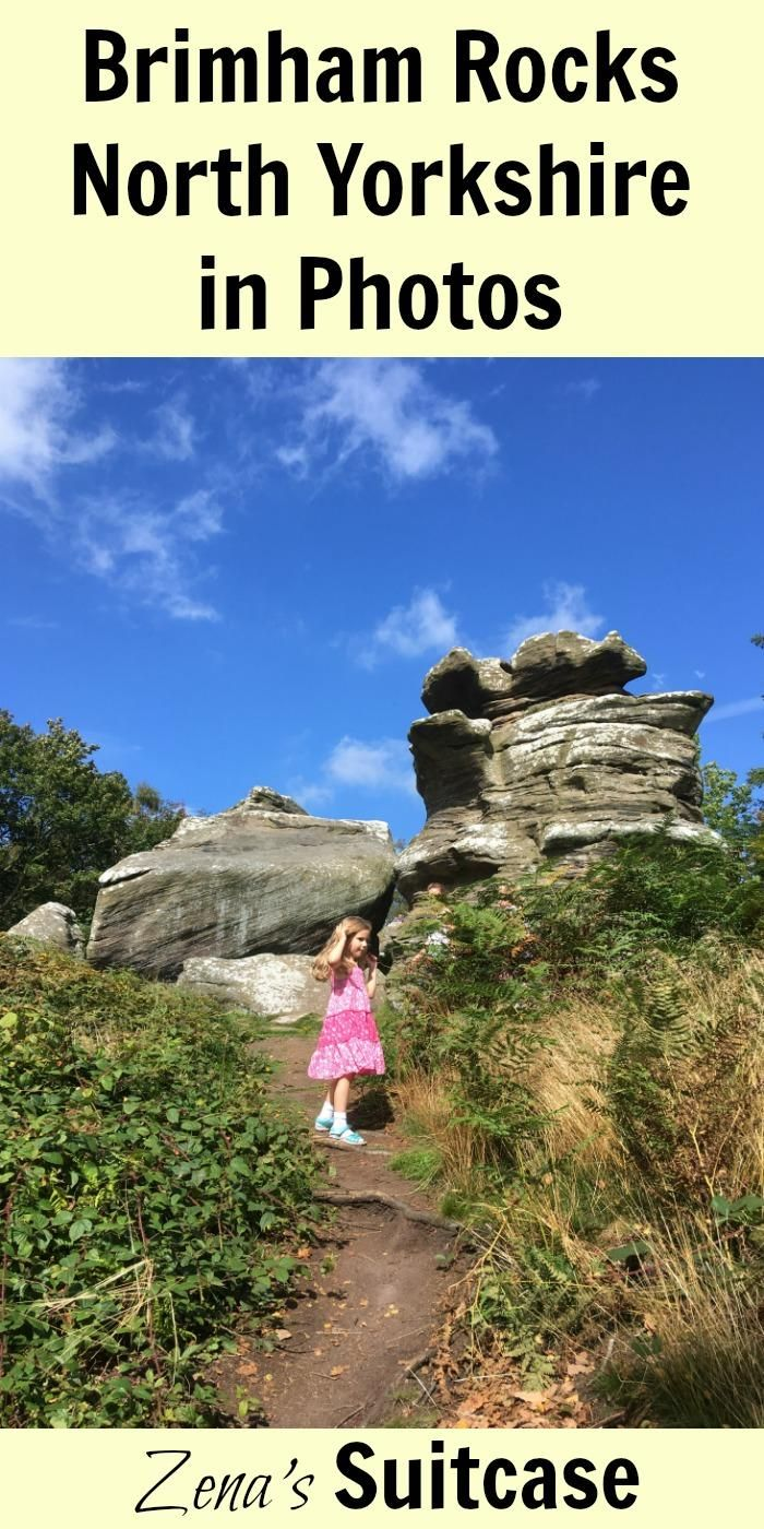 Brimham Rocks With Kids | Days out in North Yorkshire | Photos of Brimham Rocks | #familytravel #yorks