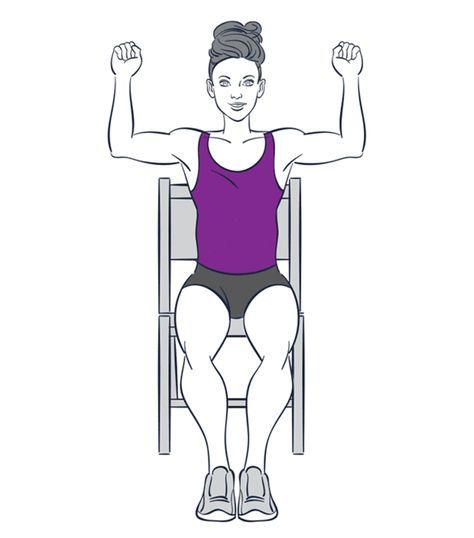 9 Exercises You Cp]an Do While Sitting Down