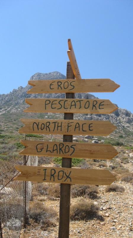 Signs - Telendos Island (Greece)