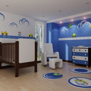 17 best images about decoracion2 infantil on pinterest - Cuartos infantiles nino ...