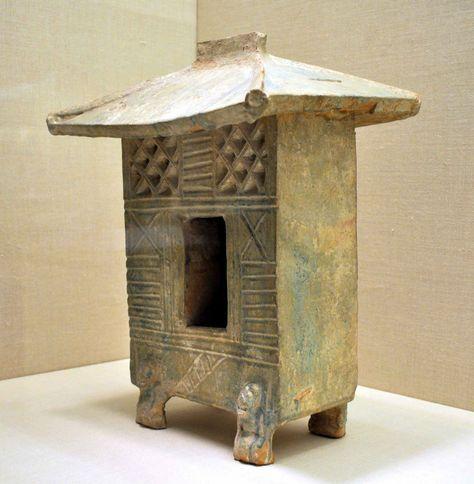 Han Dynasty ceramic house