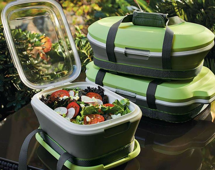 Transporting hot and cold foods for a tailgate, picnic or potluck has never been easier. The innovative Fit & Fresh servers are super-insulated with a high-performing Aerogel3 and foil base, plus an extra-thick EVA lid.