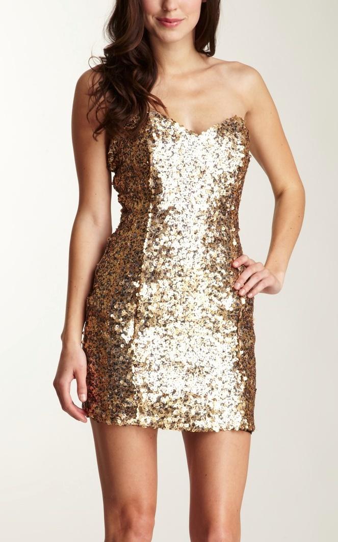 sweetheart glitter dress / Naven