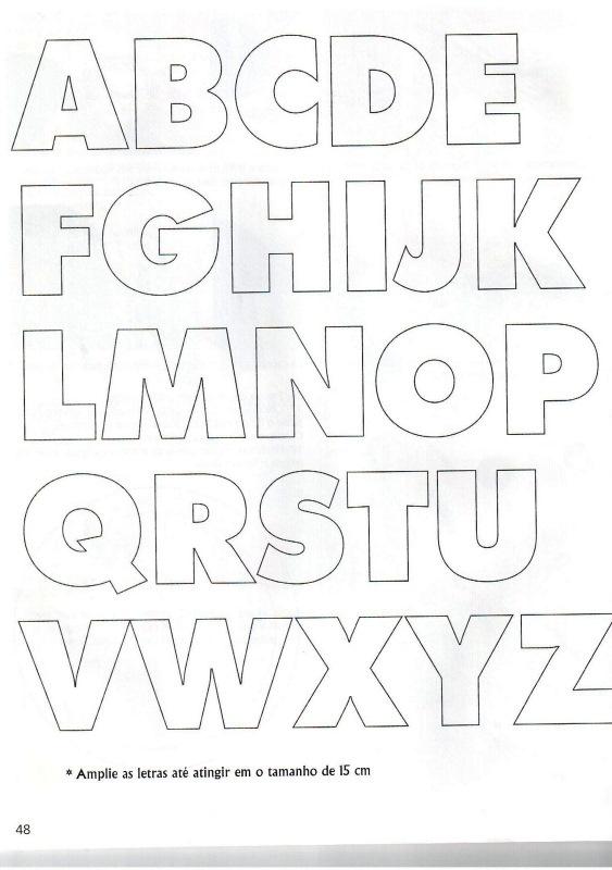 GRATIS printbare alfabet letters.