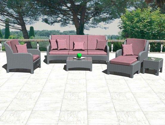 WHITE LAKE Sofa Set