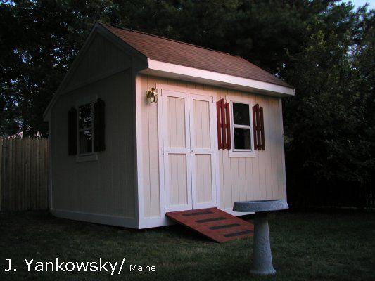 SALTBOX shed plans #367