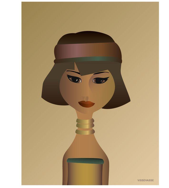 BURMA  girl. You can buy this piece at www.artrebels.com #artrebels #art #vissevasse