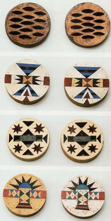 afrikani:  Zulu ear discs, worn into the 1970s. Collected by African Image, Cape Town.