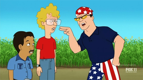 Napoleon Dynamite feels a lot like a Seth MacFarlane series...