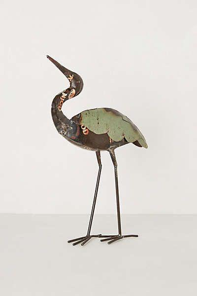 Reclaimed Metal Crane
