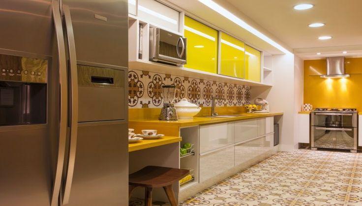 Cheyenne Alban Oficial: Inspiração : Cozinha Retrô Moderna