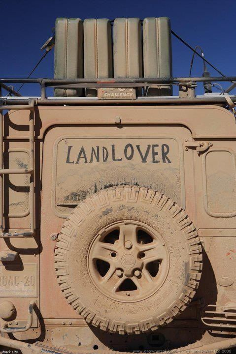 Muddy Monday: Land Rover