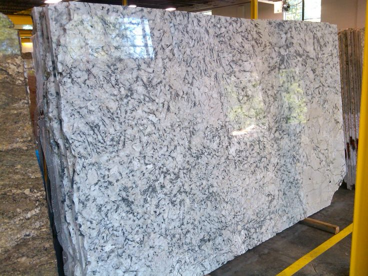 Ice White Granite Slab