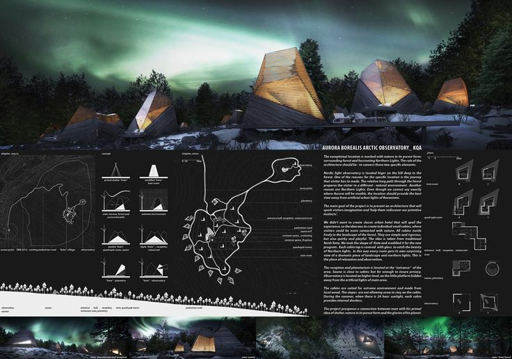 [A3N] : Aurora Borealis Arctic Observatory Competition Winner 2012 ( Honorable Mention 01 ) /  Matej Mejak ,Katja Aljaz (MMKA)