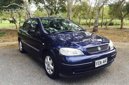 2000 Holden Astra CD TS Manual MY01
