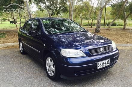 2000 Holden Astra CD TS Manual MY01