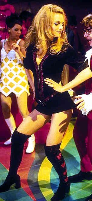 Heather Graham as Felicity Shagwell