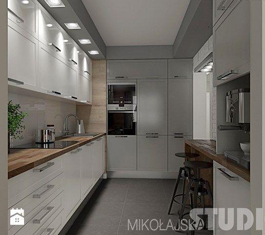 Kuchnia w stylu skandynawskim - zdjęcie od MIKOŁAJSKAstudio