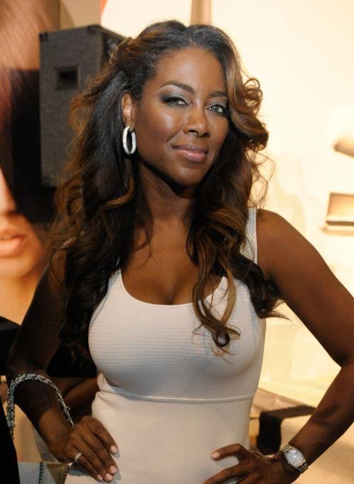 kenya moore hairstyles | Cynthia Bailey, Rasheeda & Over the Top Hairstyles at The Bronner Bros ...